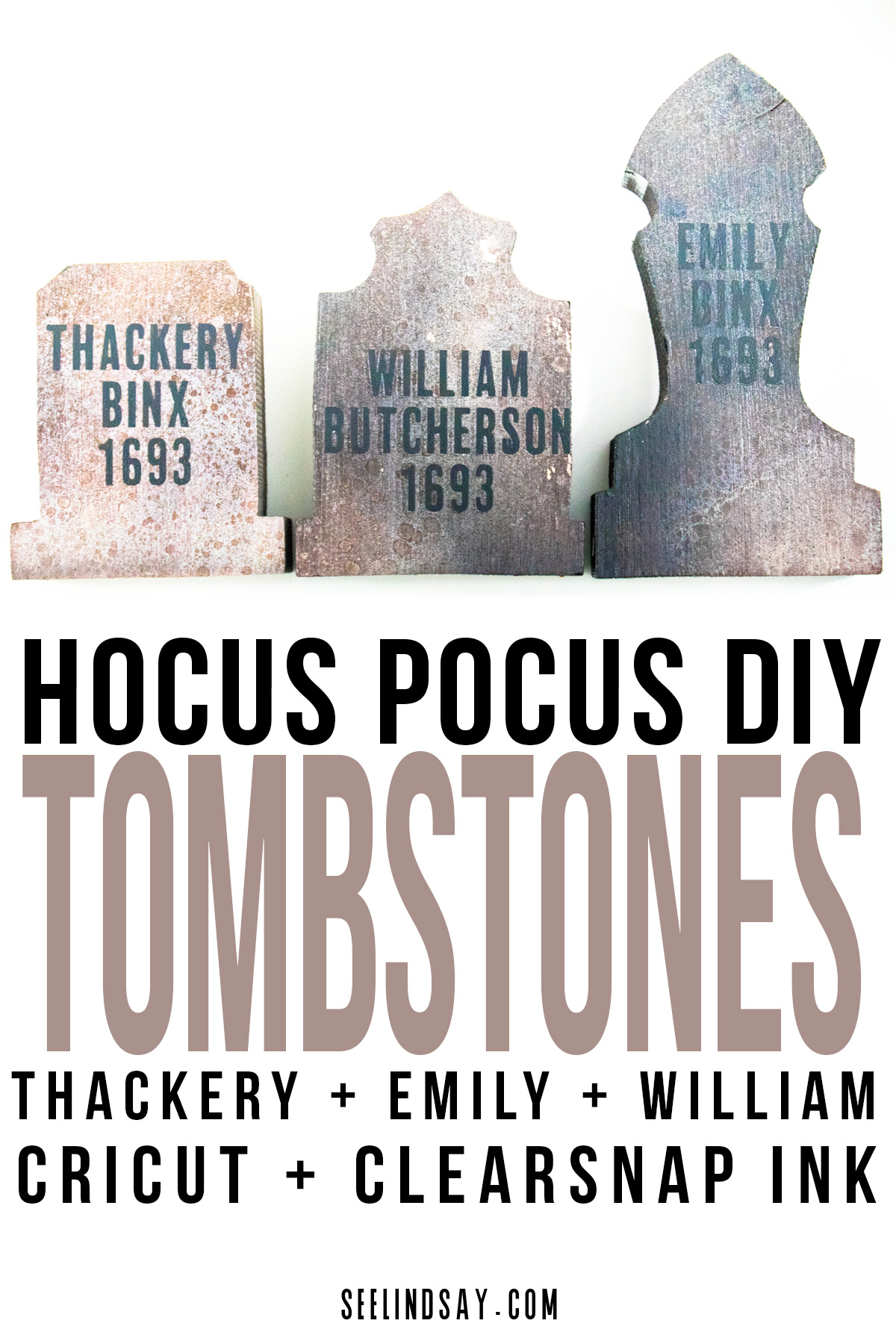 hocus pocus tombstones
