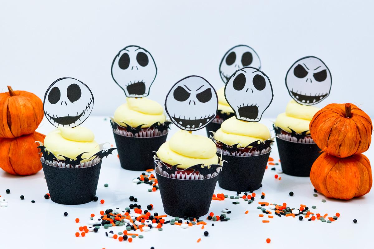 Disney halloween cupcake