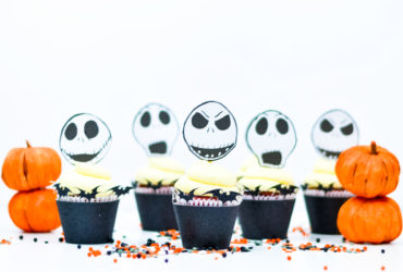 Jack Skellington Cupcake Toppers for your next Halloween Party