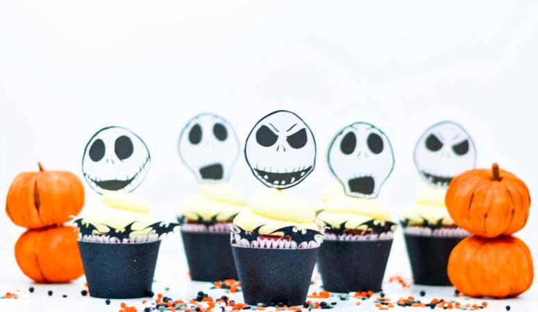 nightmare before christmas cupcake