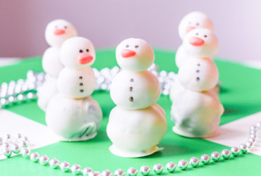 Oreo Truffle Snowman Recipe for Winter