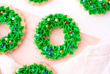 Adorable and Delicious Christmas Wreath Cookies