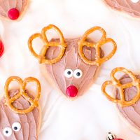 ruldolph cookie recipe for Christmas
