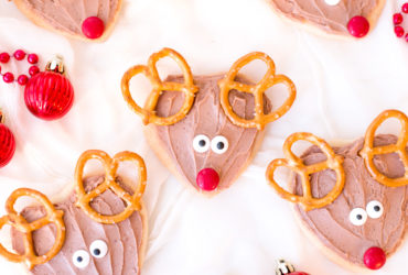 Adorable Rudolph Cookie Recipe for Santa