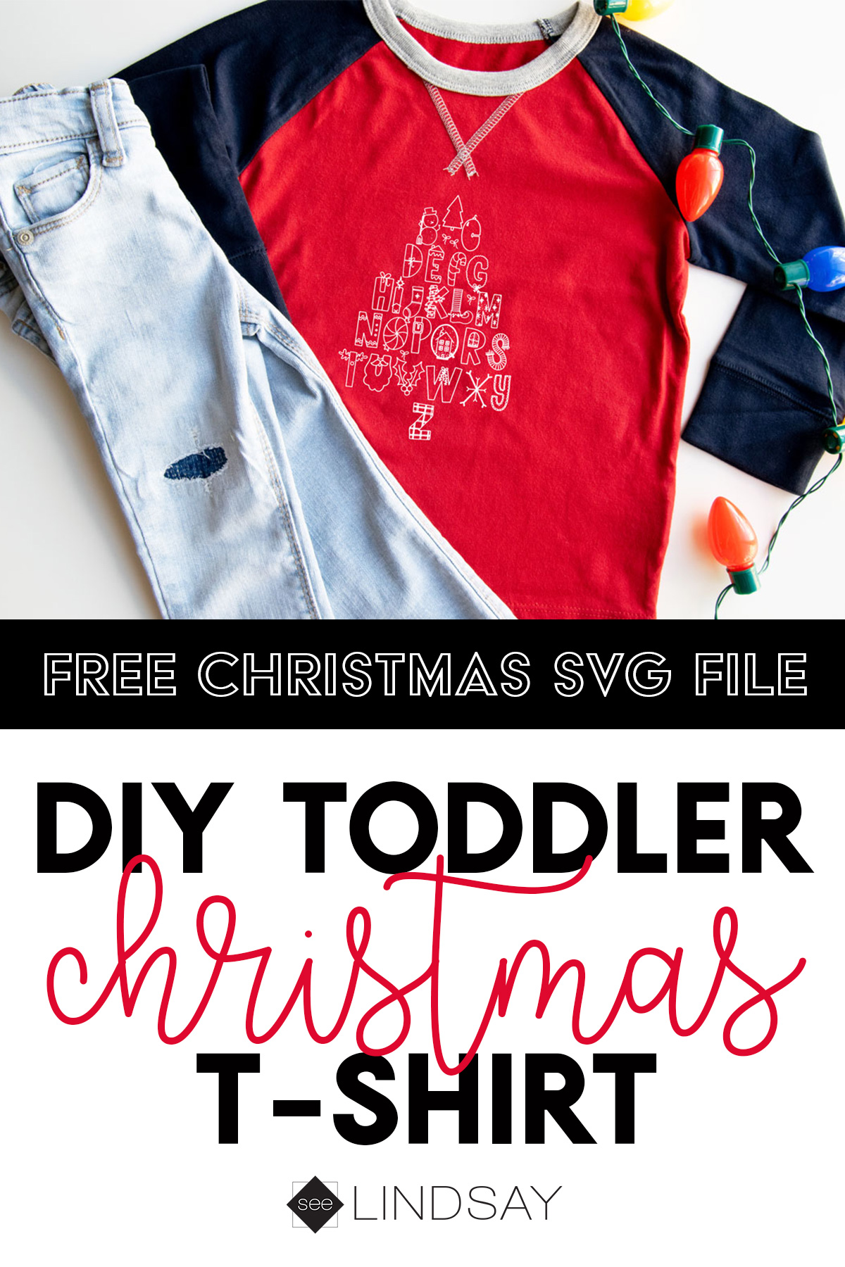 free Christmas svg for kids