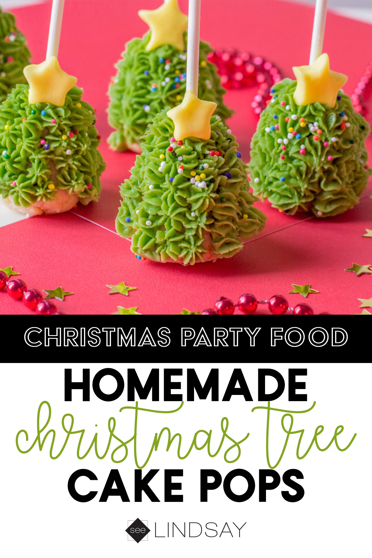 Christmas Tree Cake Pops To Wow The Holiday Crowd Seelindsay