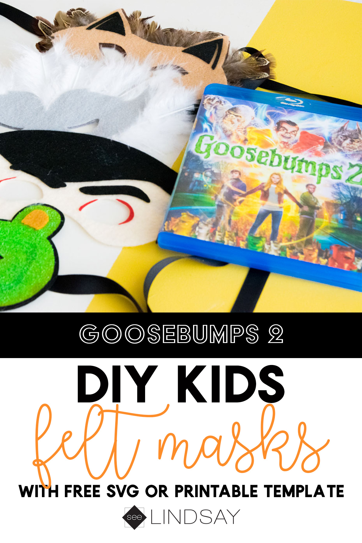 goosebumps felt masks