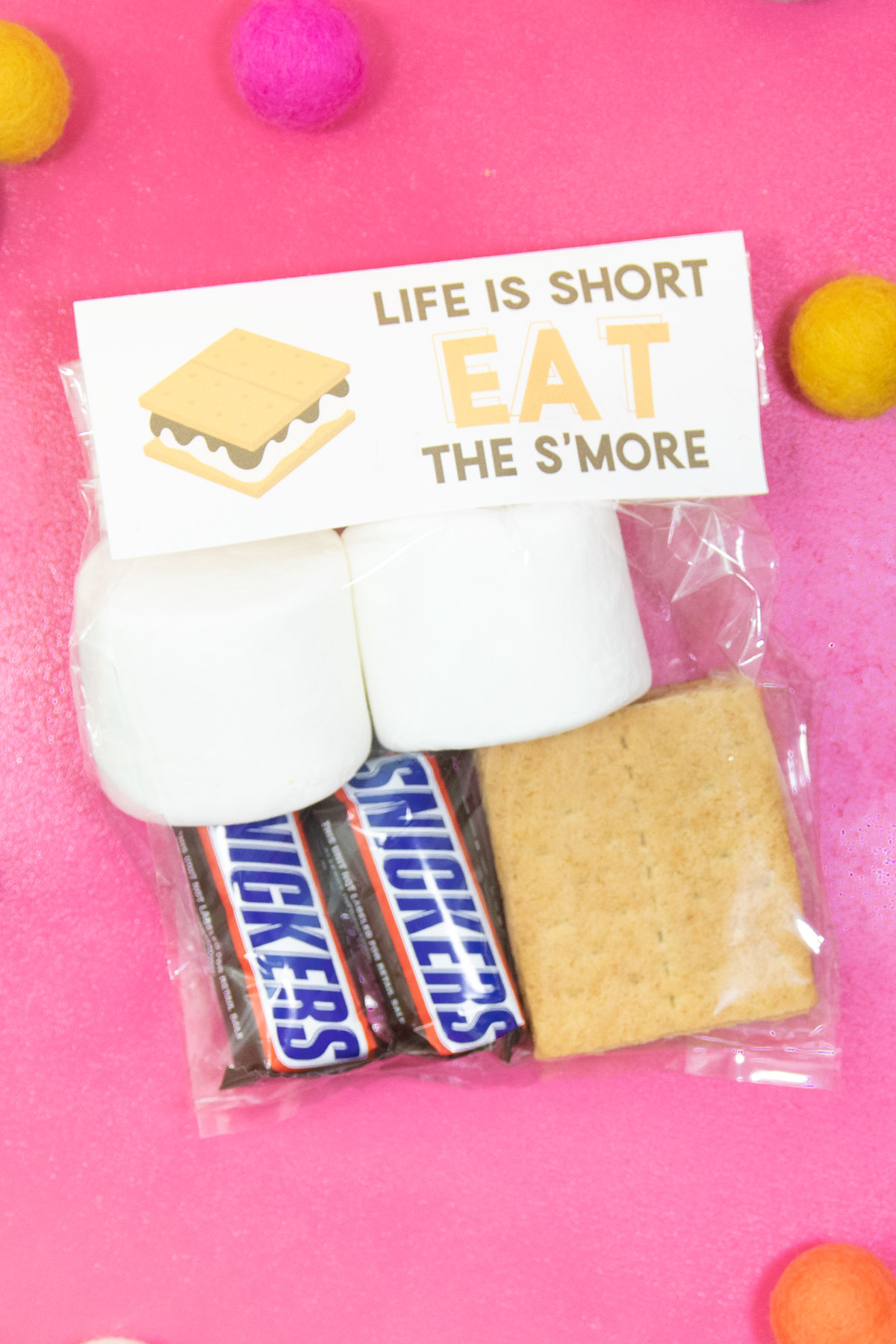 free s'mores printable