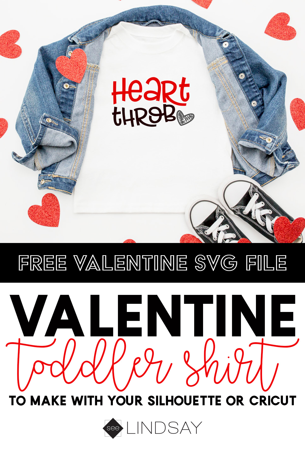 Custom T Shirt For Valentines Day Free Heart Throb Svg Seelindsay