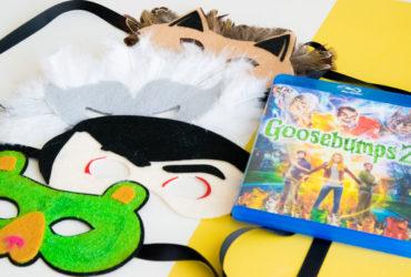 Goosebumps 2 Spooky Felt Masks You Can Make