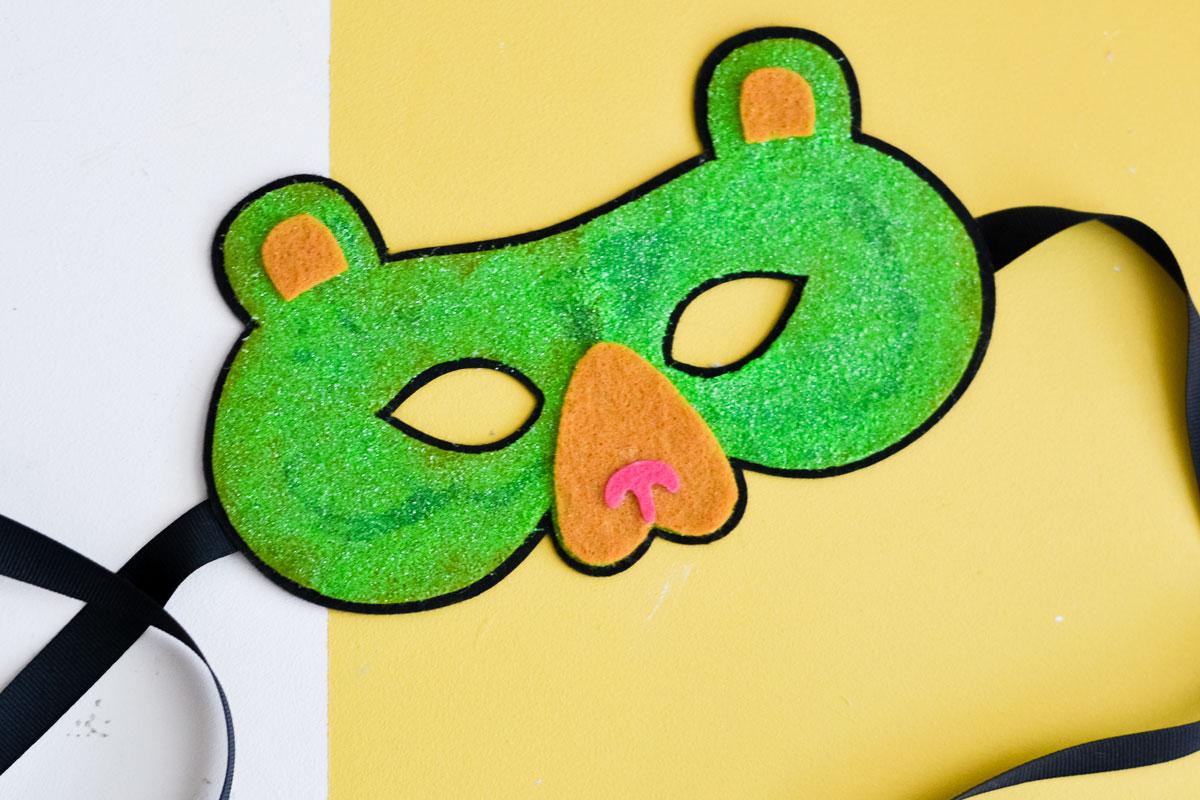 bear felt mask
