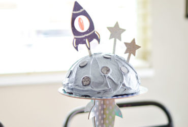 DIY Cricut Cake Topper – Kids Space Party with your Cricut Maker