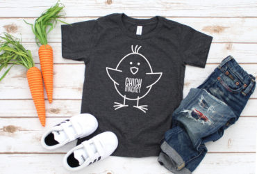 Easy DIY Toddler Easter Shirt and 15+ More FREE SVG Files