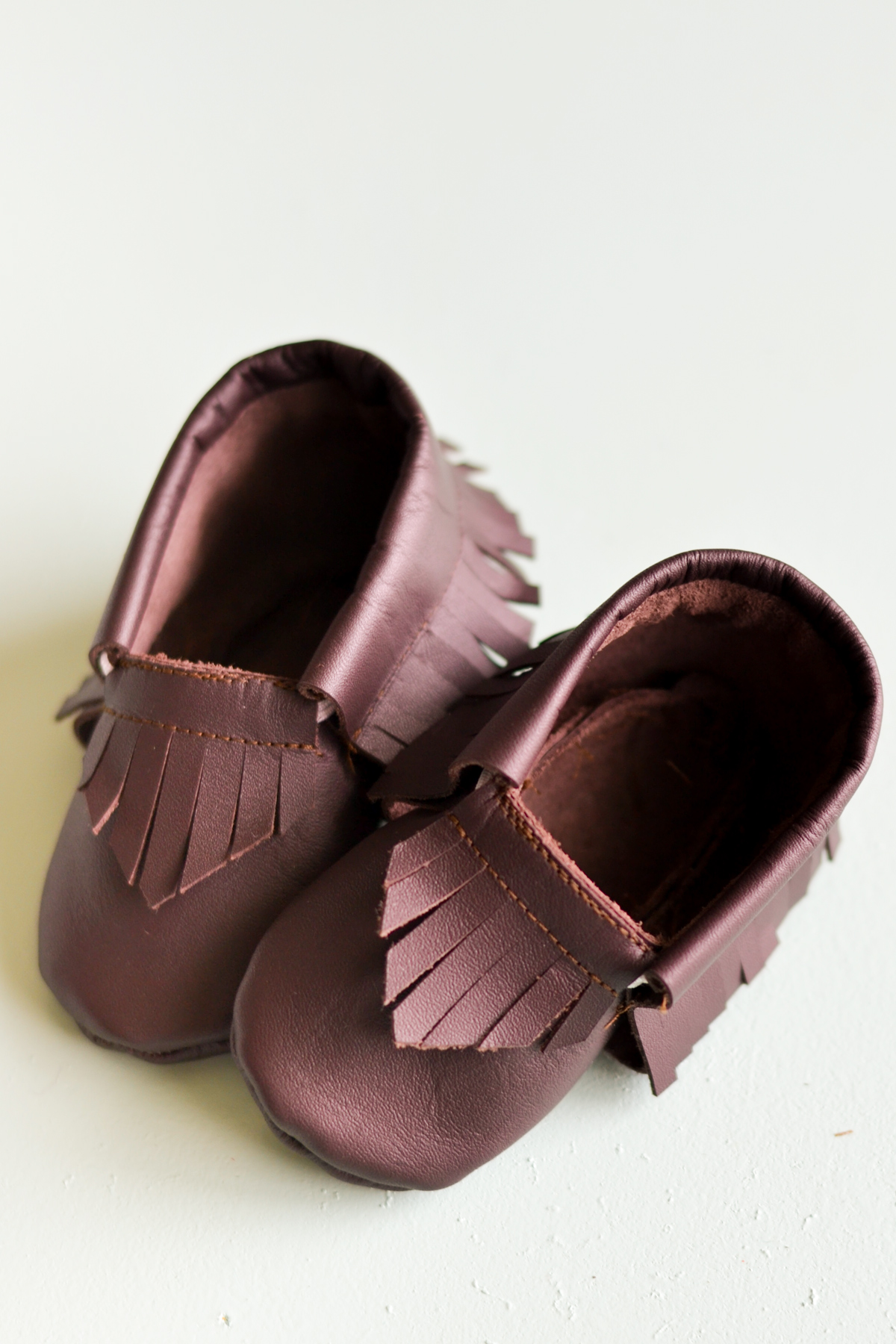 cricut leather moccasins