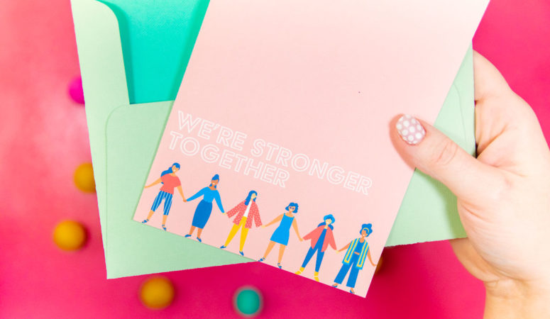 National Send a Friend a Card Day Craft with a FREE Printable