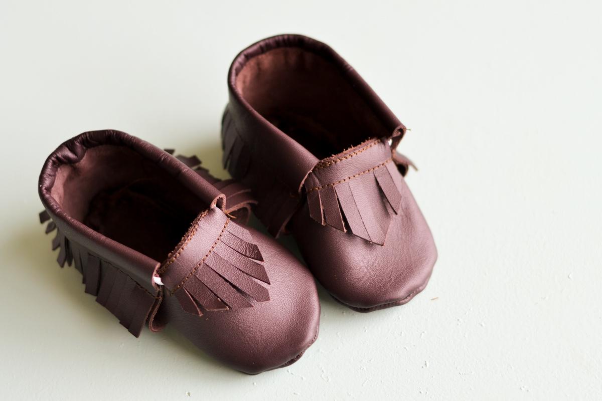 diy baby moccasins