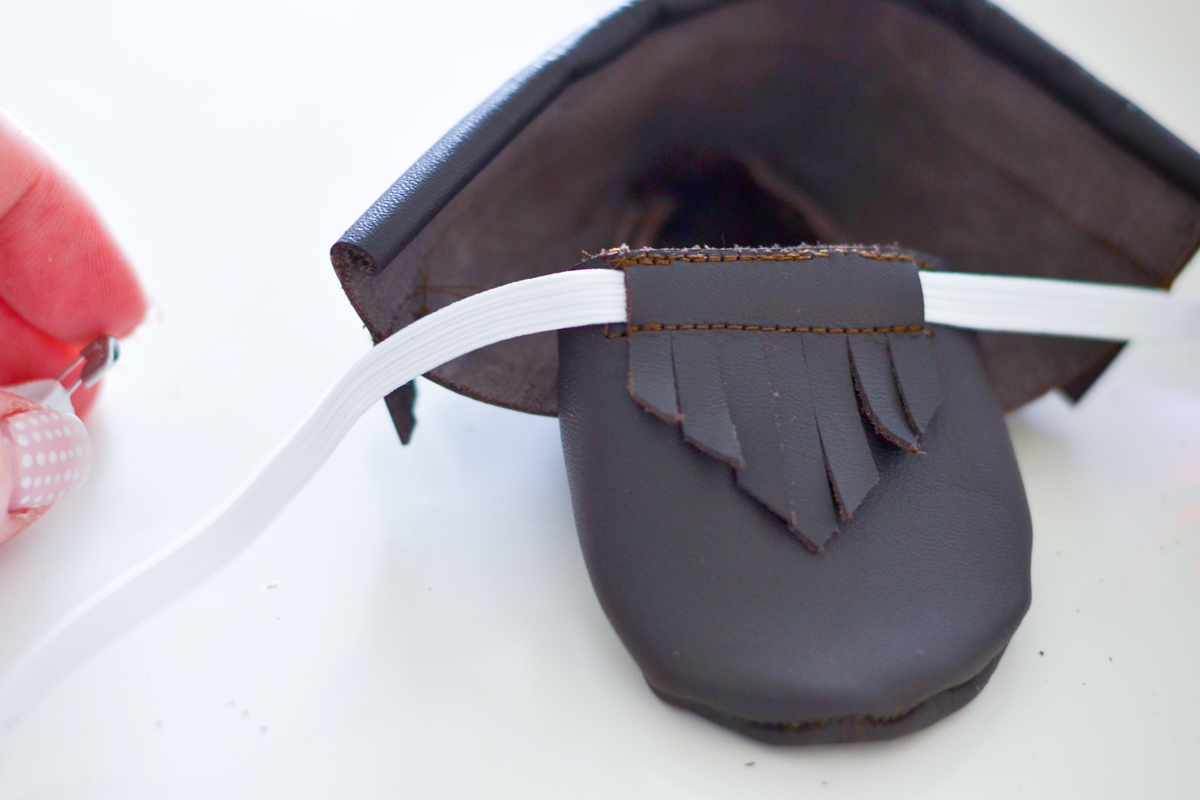 make your own leather moccasins