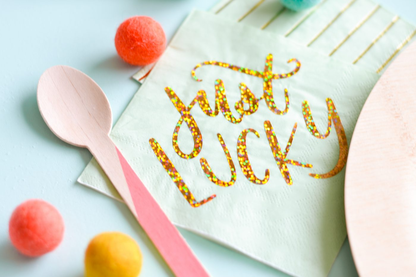 lucky napkins