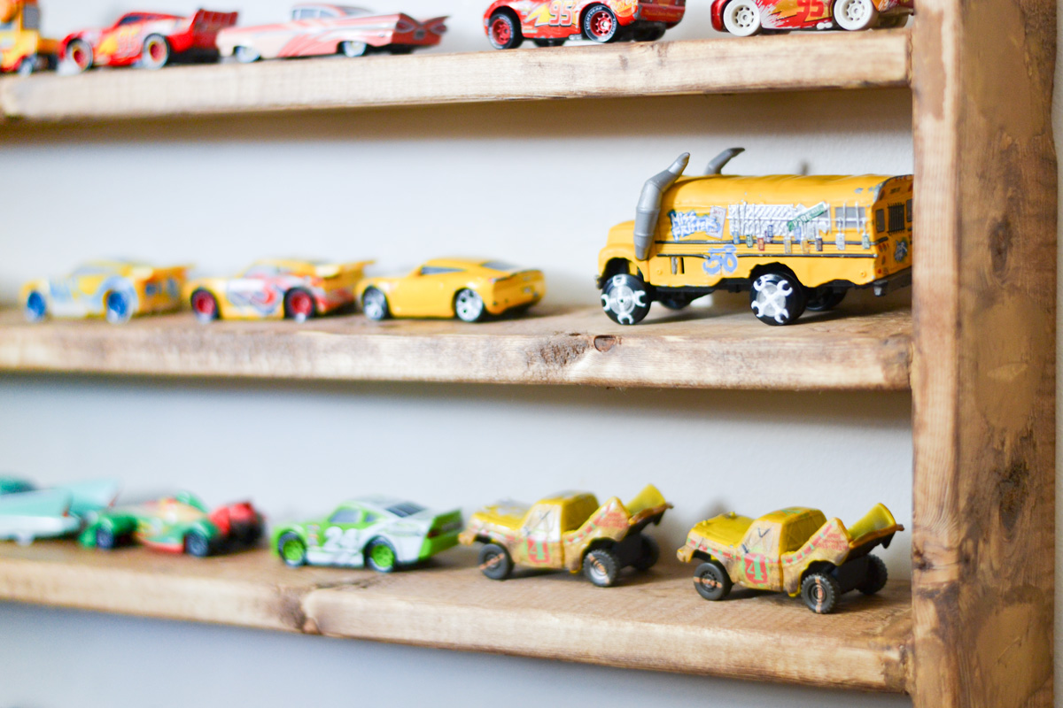 toy car storage for kids