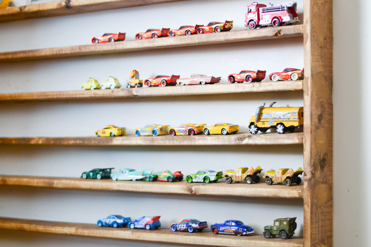 DIY Hot Wheels Storage & Display for all your Die Cast Cars!