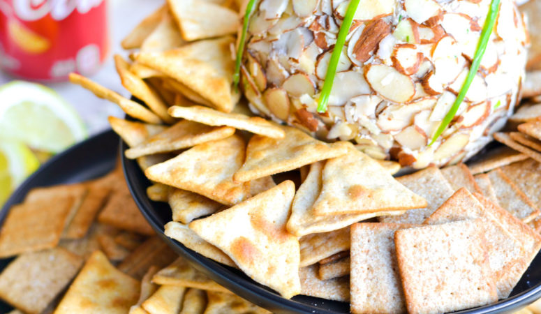 Onion CheeseBall Recipe for your Basketball Party!