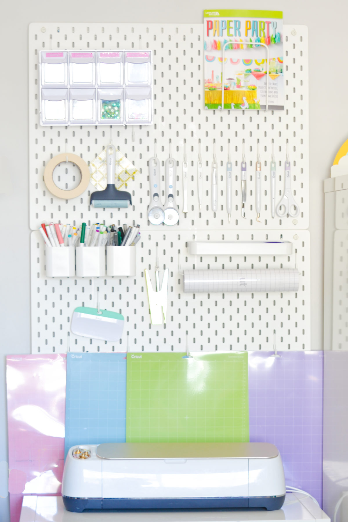 Cricut Accessory Storage
