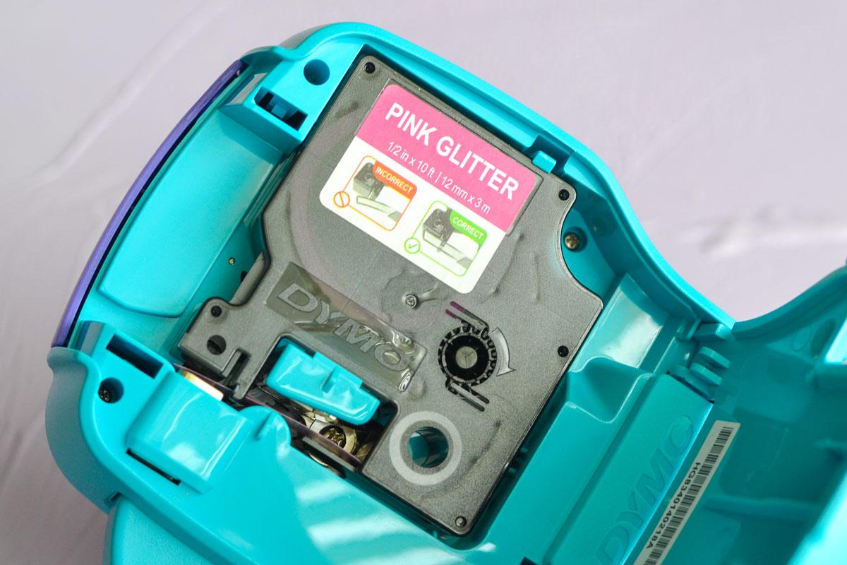 DYMO COLORPOP! Pink Glitter Tape
