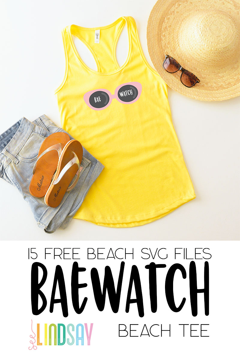 free beach svg files