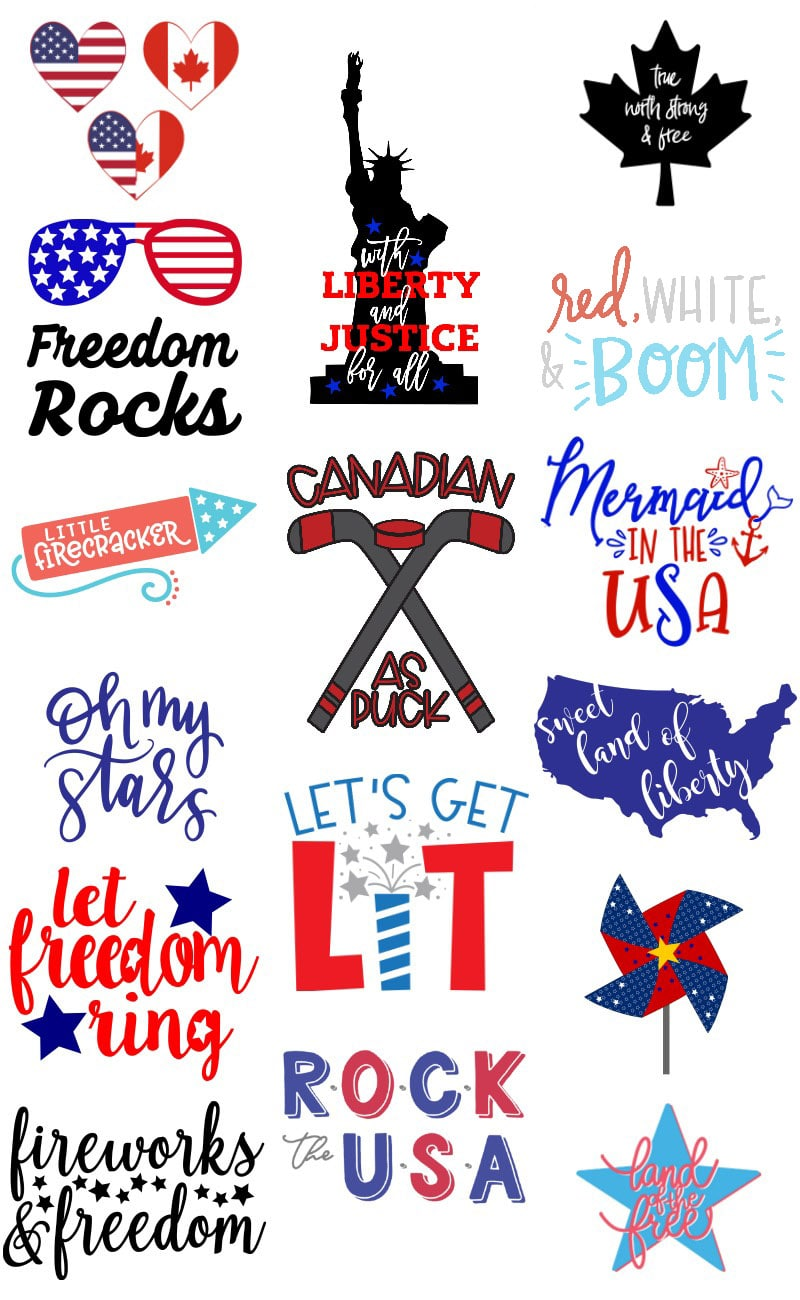free fourth of July svg files