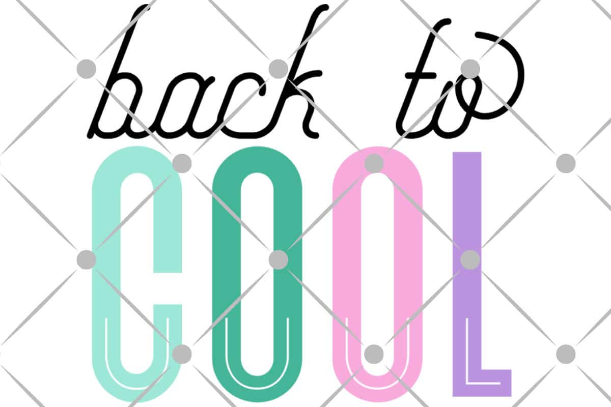 Back to School free svg file