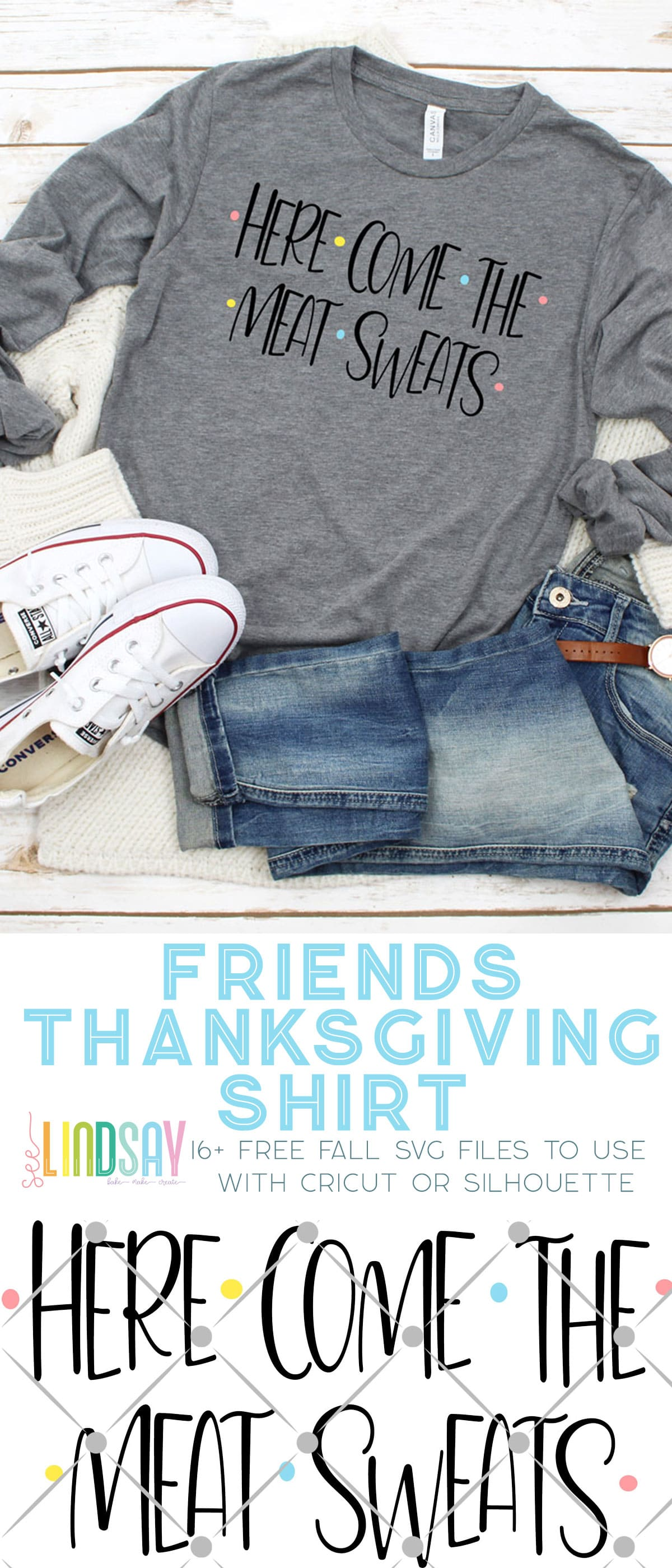 friends thanksgiving shirt