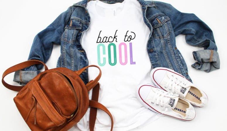 First Day of School Shirt – Back to Cool