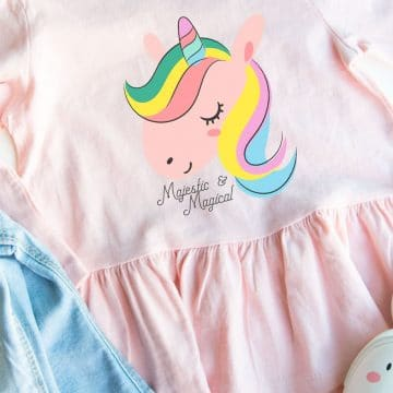 kids unicorn shirt Cricut