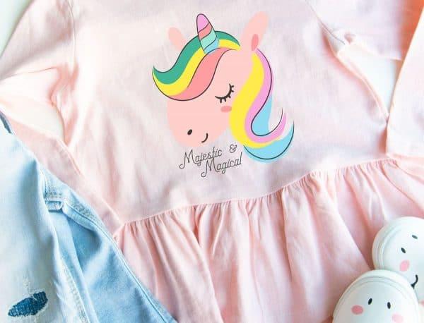kids unicorn shirt Cricut