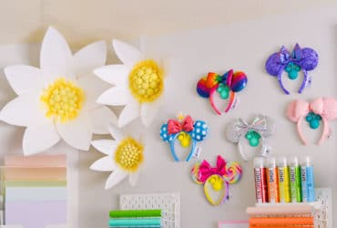Cricut Paper​ Flowers – Giant Paper Daisies for Your Walls + Infusible Ink Giveaway!