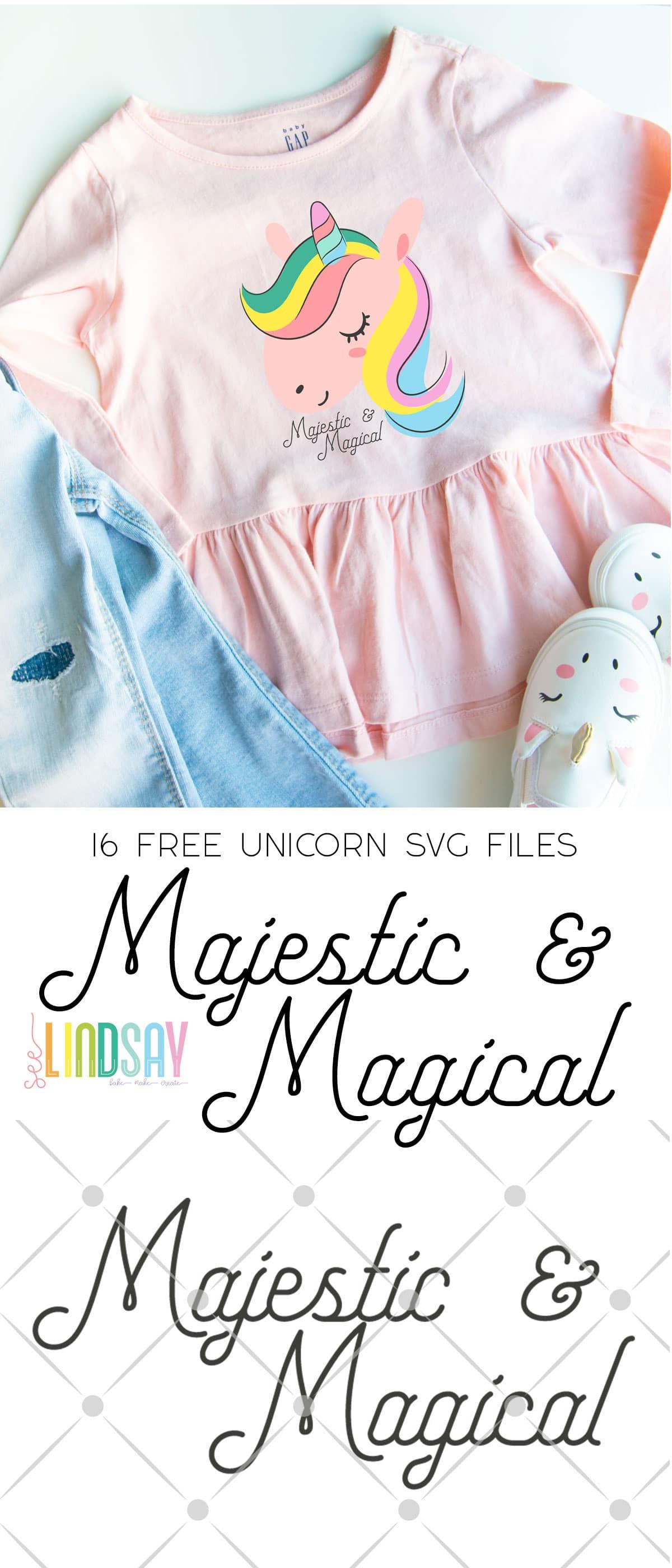 unicorn svg file for Cricut