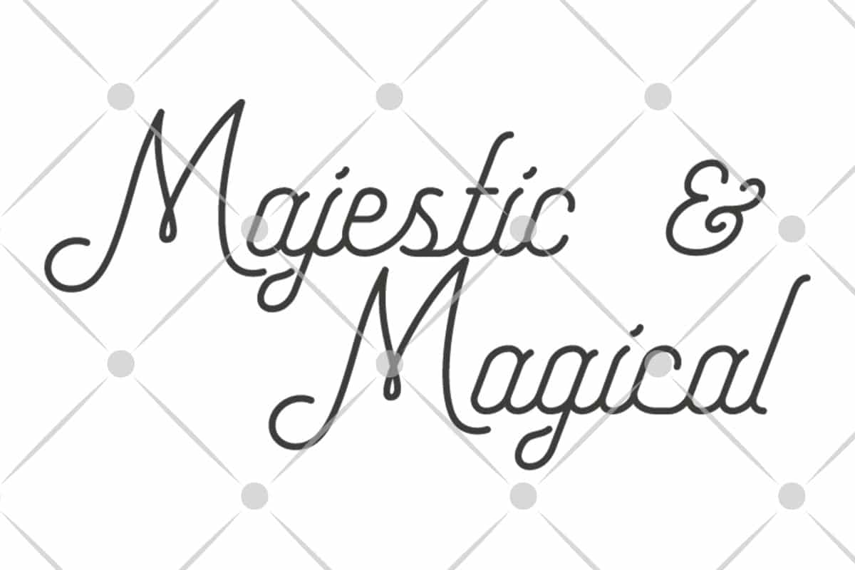 majestic and magical svg file