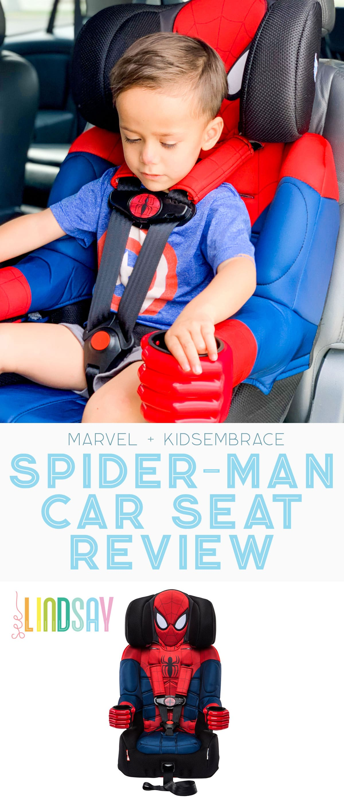 spider-man car seat review