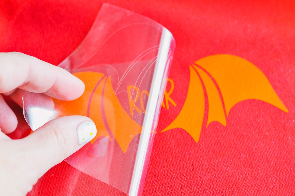 how to remove Cricut carrier sheet