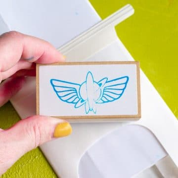 silhouette mint stamp
