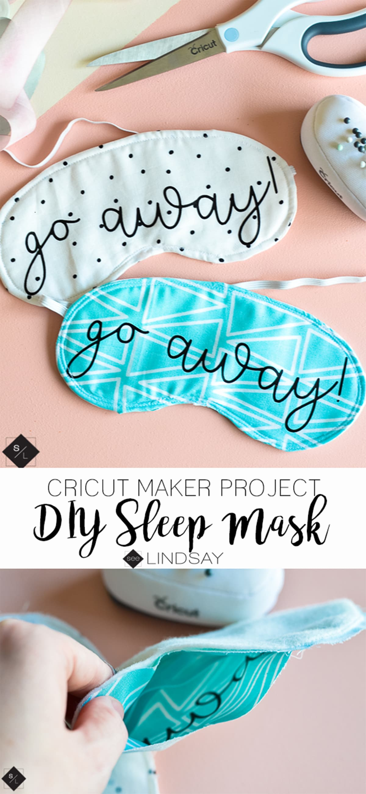 sleep mask sewing template