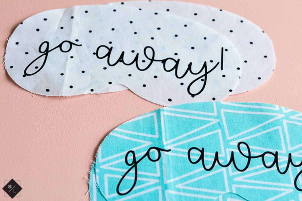 cut fabric with cricut or Silhouette cameo 4