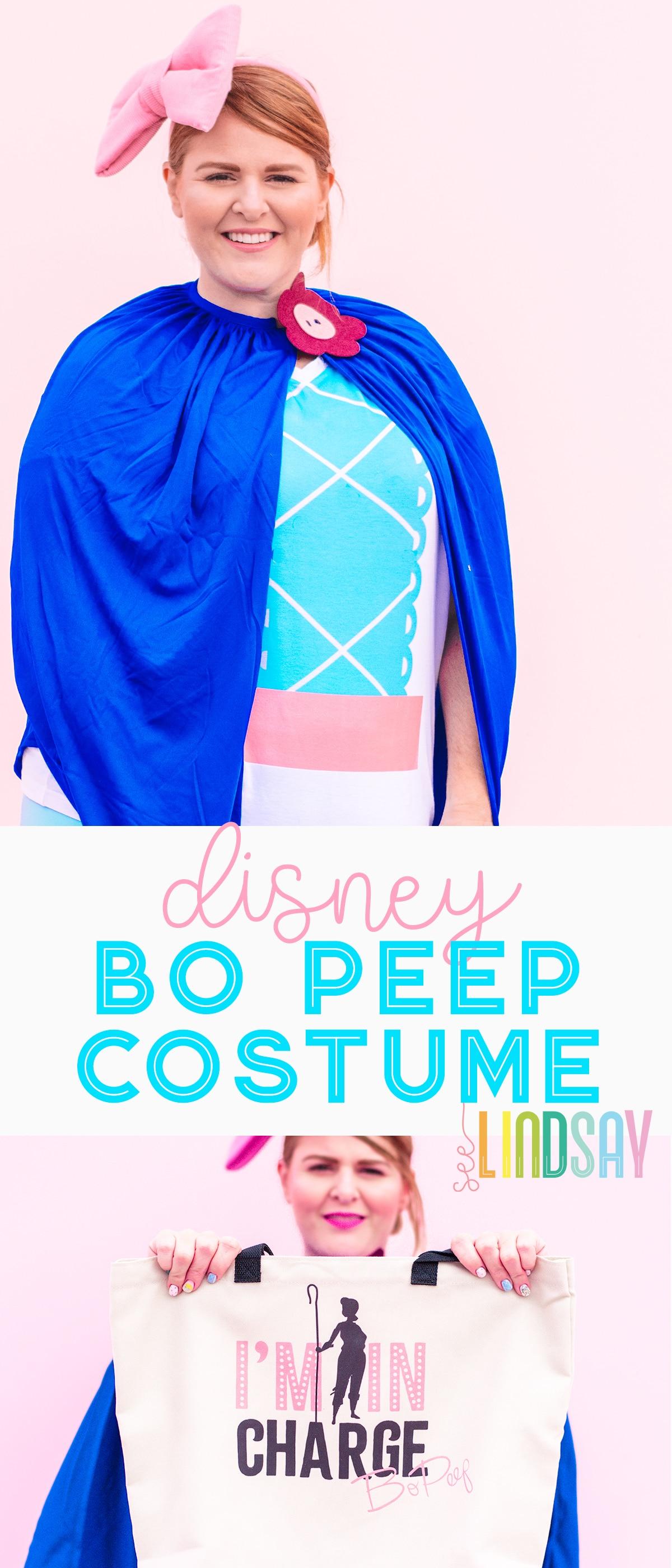 diy bo peep costume