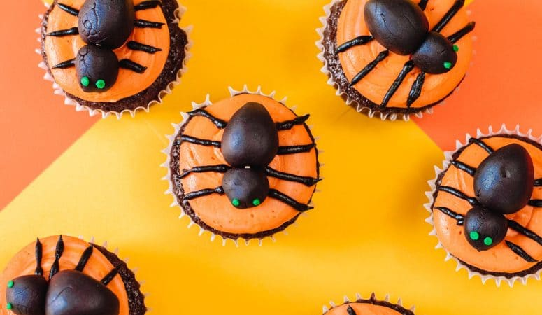 Spider Cupcakes – Perfect for your next Halloween​ soiree