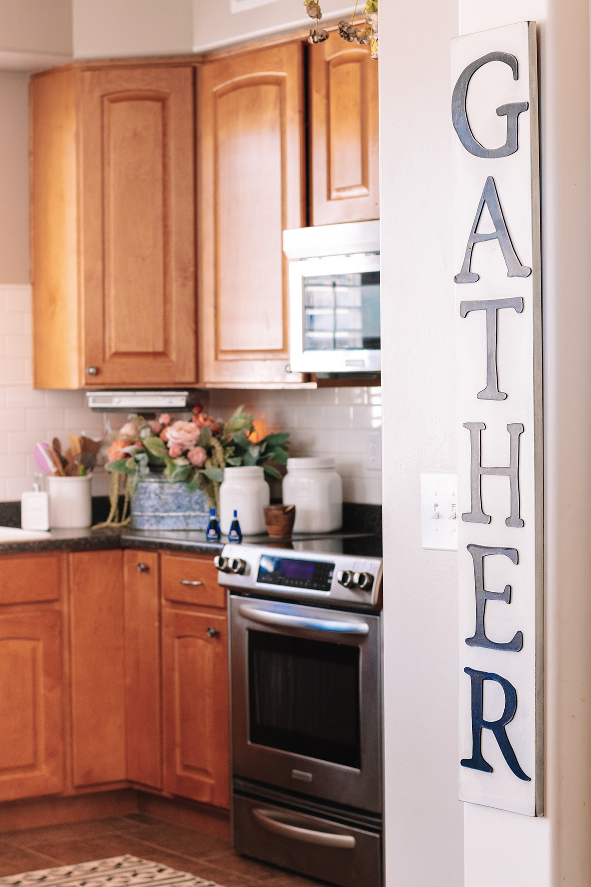 farmhouse gather sign