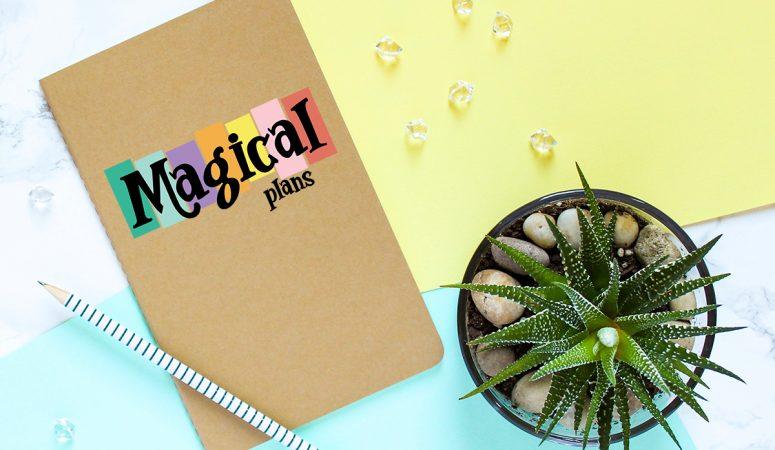 FREE Planner SVG Files – DIY Disney Vacation Planner