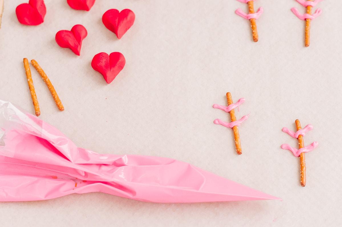 pink candy melts