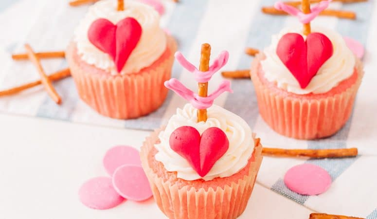 Cupid Cupcakes – The Perfect VAlentine CUpcakes!