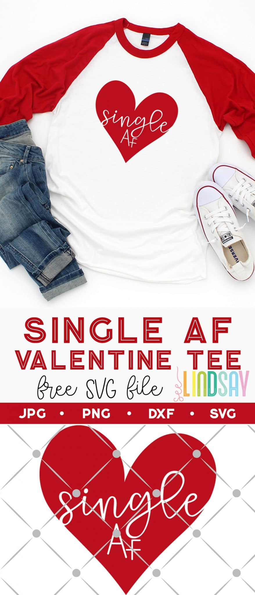 free valentine svg for homemade shirt