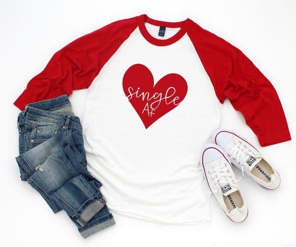 Valentine Shirt DIY